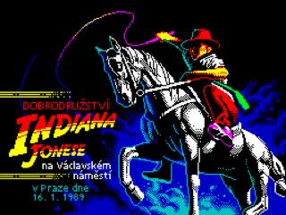 Dobrodružství Indiana Jonese na Václavském náměstí v Praze dne 16. 1. 1989 (1989)