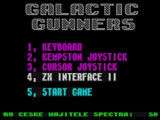 Galactic Gunners (1987)